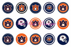 Bottle Caps Auburn Tigers