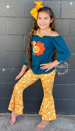 Bell Bottoms & Turkey Tunic