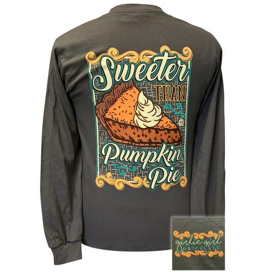 Tee Shirt Sweeter than Pumpkin Pie Girlie Girl