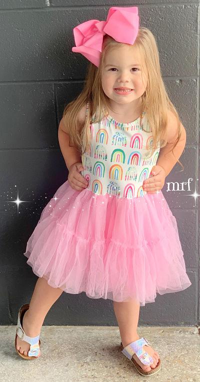 Rainbow Tutu Boutique Dress