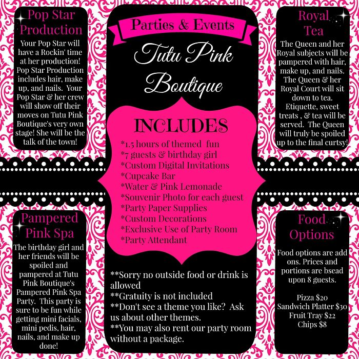Tutupink boutique for Brochure design for boutiques