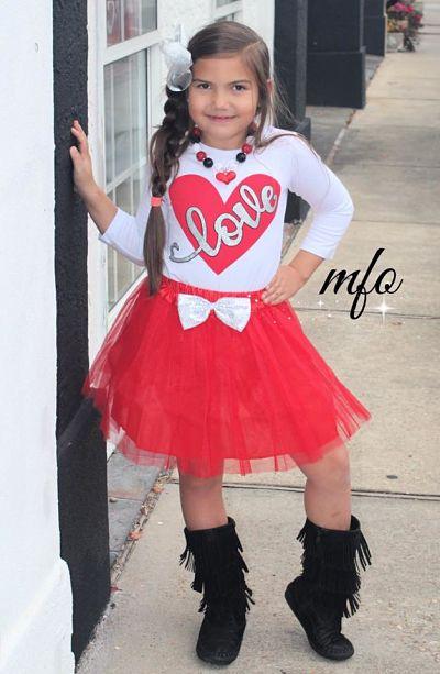 Tutu Skirt Set LOVE