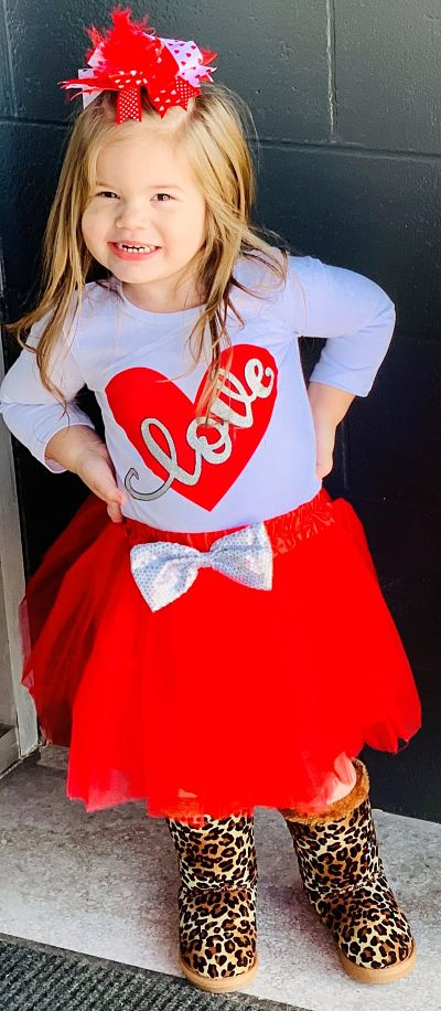 Tutu Skirt Set LOVE