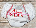 Bloomers Cotton All Star Baseball