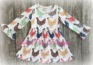 Boutique Dress Sweet Hen