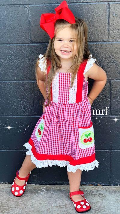 Boutique Dress Cherry