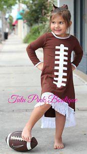 Boutique BOHO Fringe Dress Football Game Day