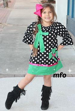 Boutique Dress Shamrock Cutie