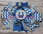 Hair Bow Boutique Stacked Colts