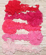 Headband Lace Red, Hot Pink, Strawberry, Watermelon, Baby Pink