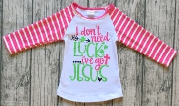 Tee St. Patrick's Luck Jesus