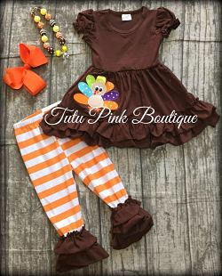 Ruffle Pants & Ruffle Top Set Turkey
