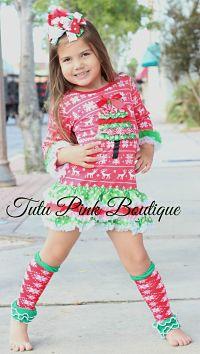 Petti Dress Christmas Sweater Tree