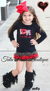Petti Tunic Valentine Love is in the Air
