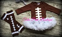 Onesie Pettiskirt Tutu Football Game Day