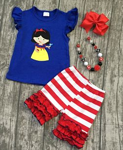 Shorts & Top Set Princess Snow