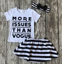 Skirt & Top Set More Issues Than Vogue