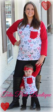 Top Mommy & Me Valentine Hearts
