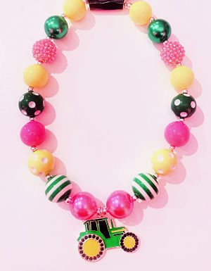 Chunky Necklace Tractor