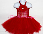 Tutu Dress Short Red